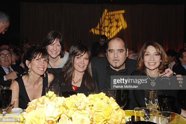 Myra Scheer Karen Whitford Sheila Jaffe Kevin Dornan and Ileana Douglas attend The COLLABORATING for a CURE benefit and auction for the Samuel Waxman...
