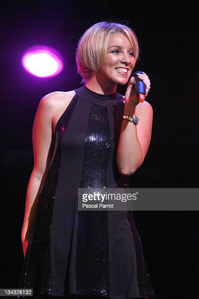 """Myriam Abel performs at the 14th edition of the association """"Fight Aids"""" gala concert at the Opera Theatre on October 6, 2007 in Avignon, France. The..."""
