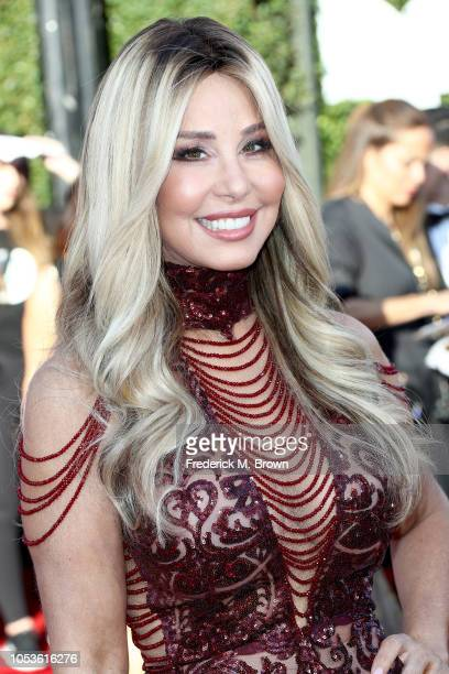 Myrka Dellanos attends the 2018 Latin American Music Awards at Dolby Theatre on October 25 2018 in Hollywood California