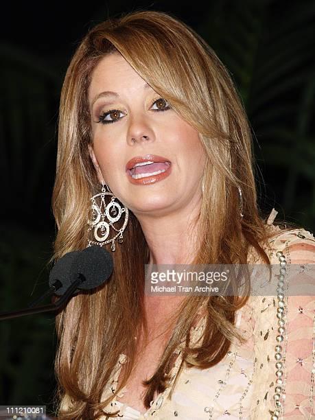 Myrka DeLlanos during 6th Annual Latin GRAMMY Awards Nominations at The Music Box @ Fonda in Hollywood California United States
