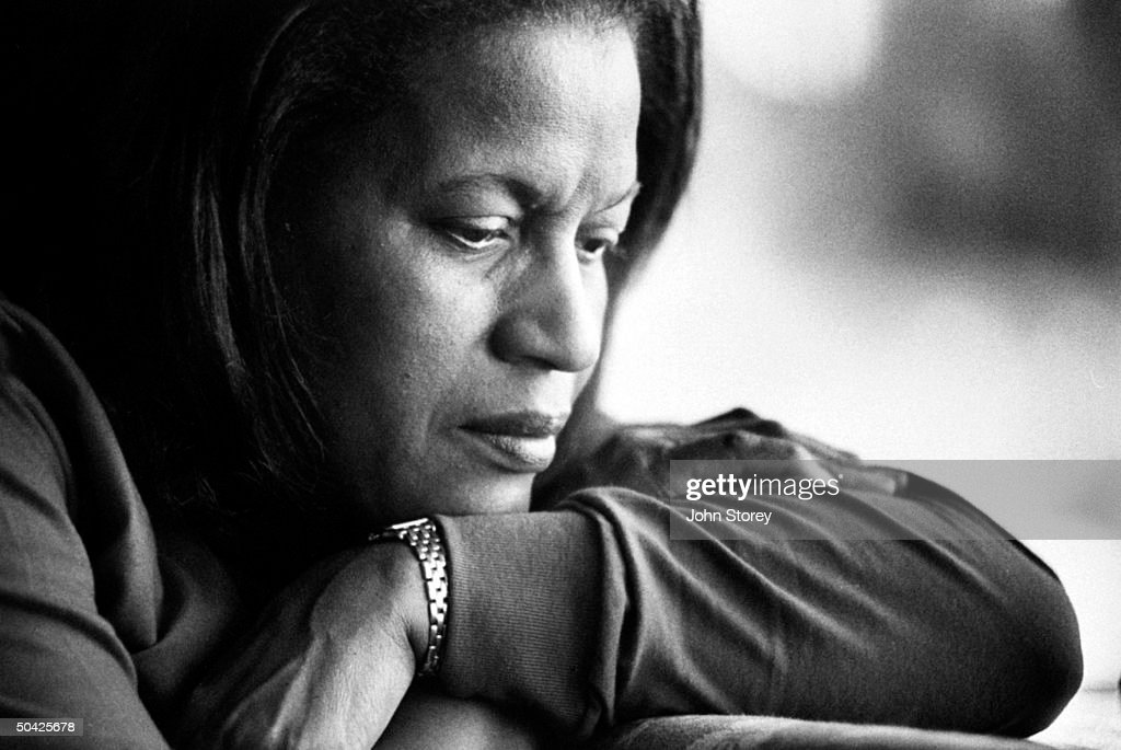 Myrlie Evers, widow of slain civil rights leader Medgar Evers, musing over the possiblity of a new trial for his acquitted, accused killer Byron de la Beckwith due to recent new witnesses.