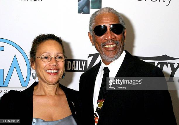 Myrna Colley-Lee and husband Morgan Freeman during The Producer's Guild Of America Holds Their 3rd Annual Celebration Of Diversity at Regent Beverly...