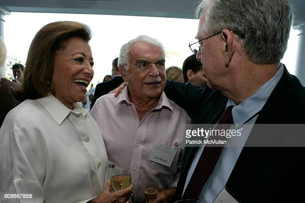 Myrna Daniels John Daniels Herb Pardes and MD attend MNUCHIN PERRY Summer Reception for NYPRESBYTERIAN HOSPITAL to meet HERB PARDES MD at Home of...