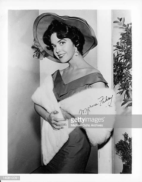 Myrna Fahey circa 1955