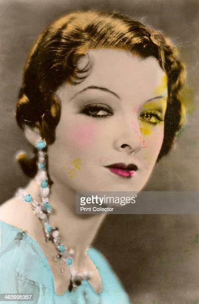 Myrna Loy American actress 20th century Signed photograph Loy began her career playing bit parts in movies among them the silent version of BenHur...