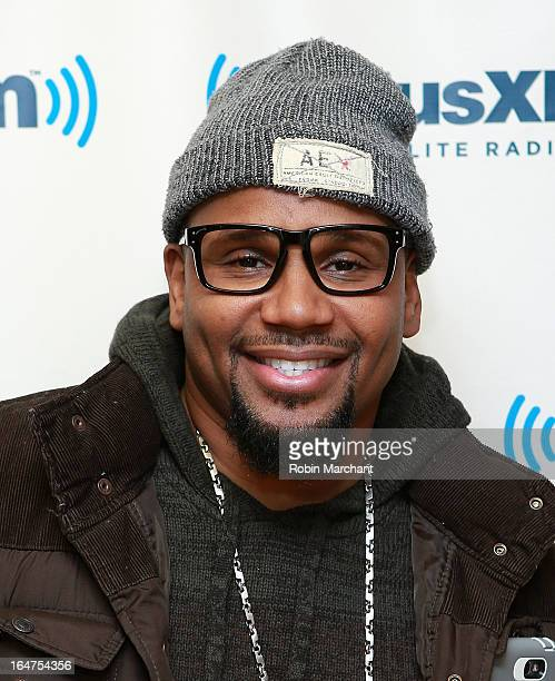 Myron Avant visits at SiriusXM Studios on March 27 2013 in New York City