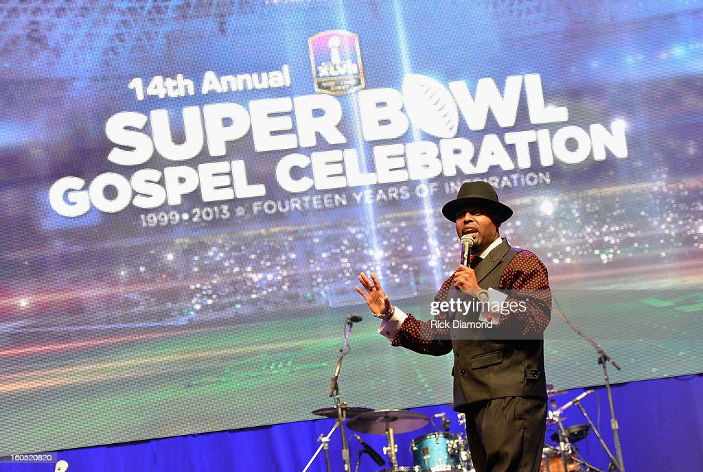Myron Butler performs during the Super Bowl Gospel 2013 Show at UNO Lakefront Arena on February 1, 2013 in New Orleans, Louisiana.