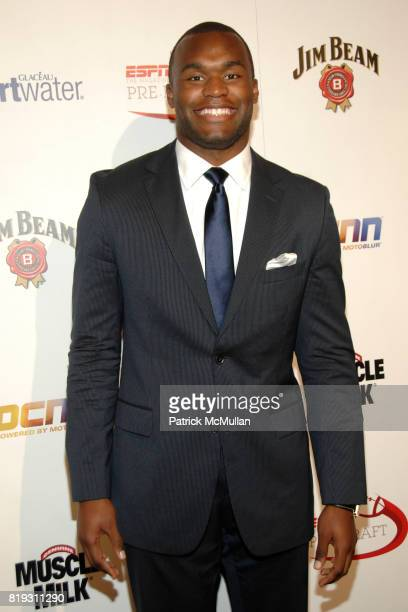 Myron Rolle attends ESPN The Magazine Presents the 7th Annual PreDraft Party at Espace on April 21 2010 in New York City
