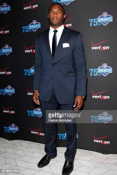 Myron Rolle attends NFL and VERIZON Celebrate Draft Eve at Abe and Arthur's on April 21 2010 in New York City