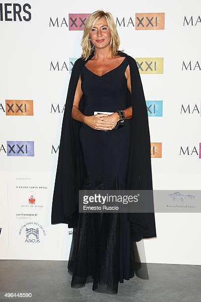 Myrta Merlino attends the MAXXI Acquisition Gala Dinner at Maxxi Museum on November 9 2015 in Rome Italy