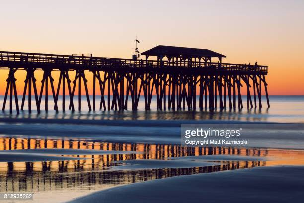 myrtle beach pier fishing - template_talk:south_carolina stock pictures, royalty-free photos & images