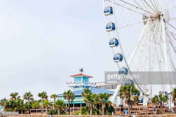 myrtle beach skywheel - file:myrtle_beach,_south_carolina.jpg stock pictures, royalty-free photos & images