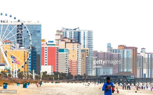 myrtle beach, south carolina. - myrtle_beach stock pictures, royalty-free photos & images