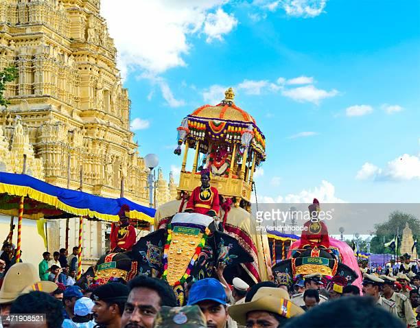 mysore dasara 2013 - mysore - fotografias e filmes do acervo