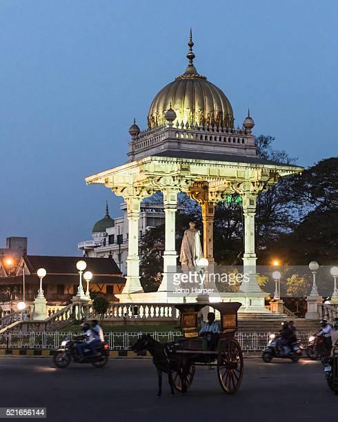 mysore, karnataka, india - mysore - fotografias e filmes do acervo