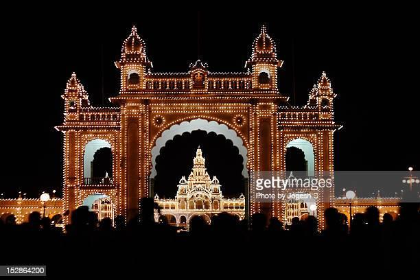 mysore palace - mysore - fotografias e filmes do acervo