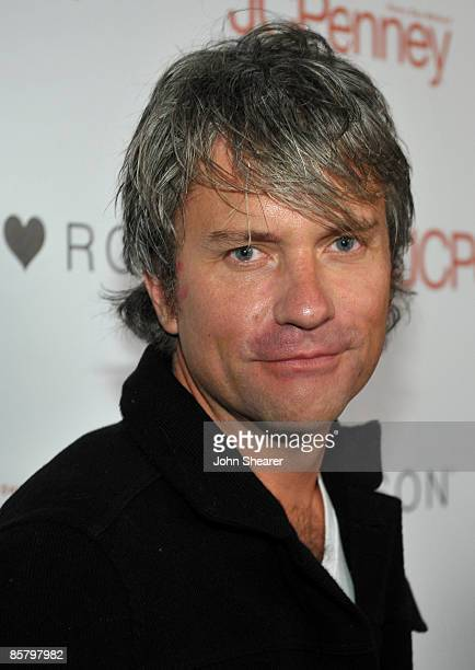 Myspace CEO Chris DeWolfe arrives at the I Heart Ronson launch party presented by Charlotte Ronson and JCPenney held at Bar Marmont on April 3 2009...