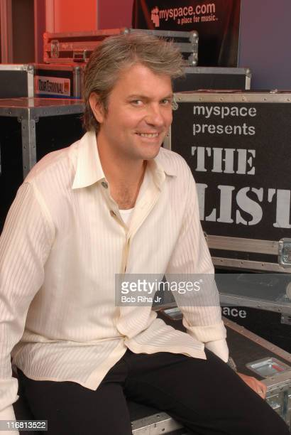 MySpace cofounder Chris DeWolfe inside his MySpace offices in Beverly Hills California