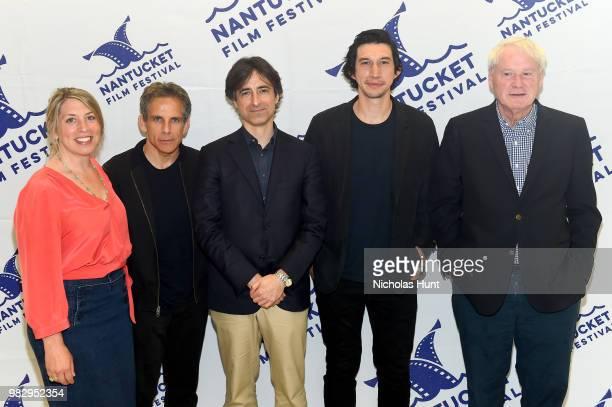 Mystelle Brabbee Ben Stiller Noah Baumbach Adam Driver and Chris Matthews attend 'In Their Shoes' at the 2018 Nantucket Film Festival Day 5 on June...
