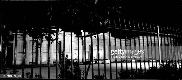 A mysteries Taylors square court sits while all await the jury's decision on the Annita Cobby trial June 09 1987
