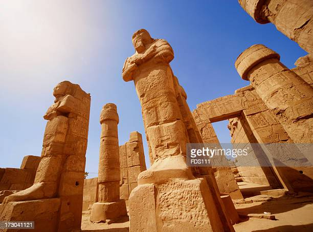 Mysterious ancient temple ruins in Egypt