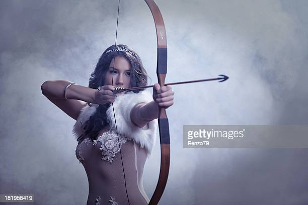 Mysterious Female Archer