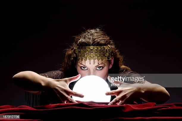 mysterious fortune teller