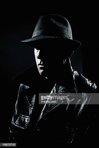mysterious man