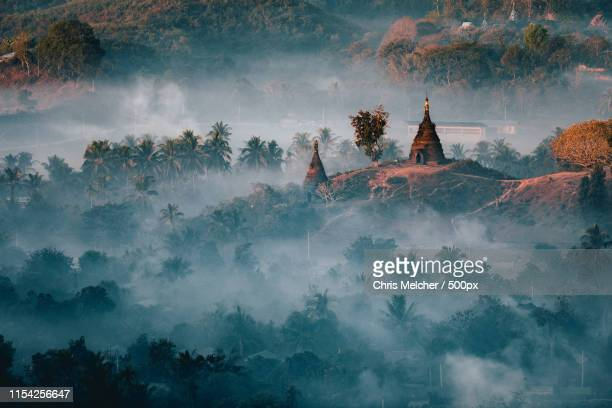 mysterious mrauk-u - sittwe stock pictures, royalty-free photos & images