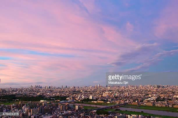 mysterious sky - 川崎市 ストックフォトと画像