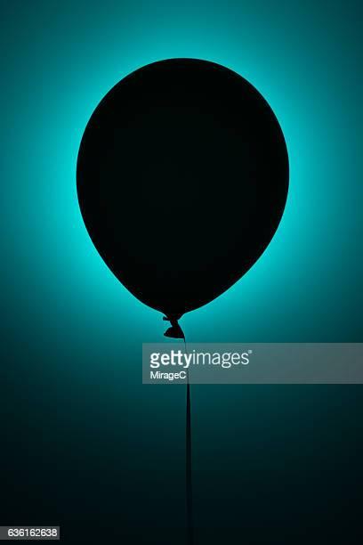 Mysterious Unknown Black Balloon