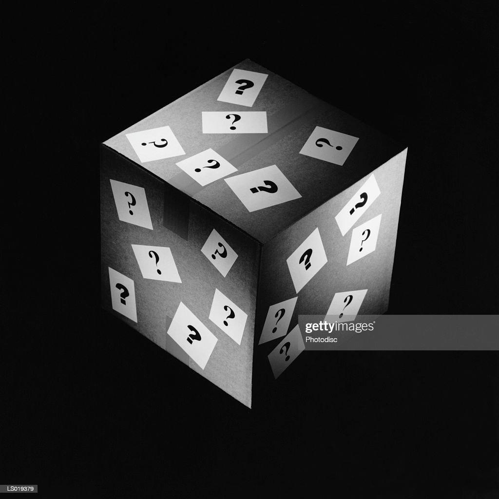 Mystery Box : Stock Photo