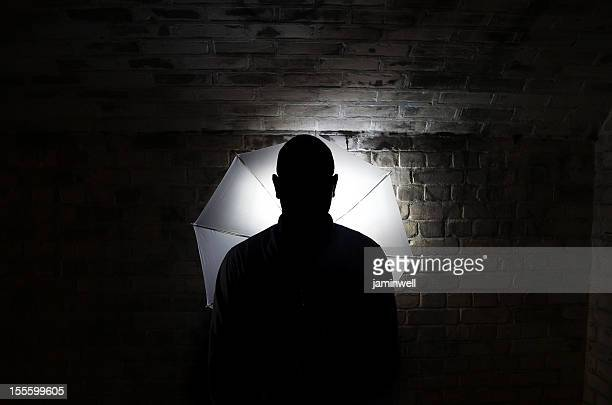 mystery person silhouette
