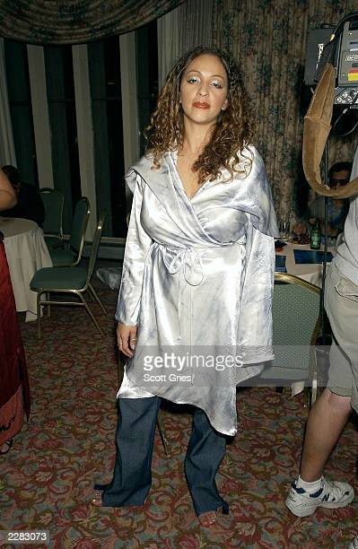 Mystic backstage at the first annual Billboard R B/Hip Hop Awards in New York City 8/30/01 Photo by Scott Gries/ImageDirect