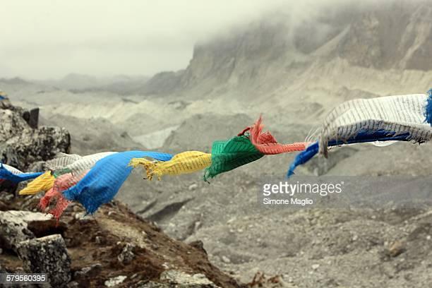 mystic himalayan mantras flag