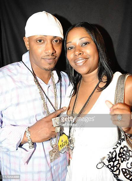 Mystikal and a friend attend the 2010 Vh1 Hip Hop Honors at Hammerstein Ballroom on June 3 2010 in New York City