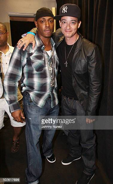 Mystikal and Christopher Kid Reid attend the 2010 Essence Music Festival at the Louisiana Superdome on July 3 2010 in New Orleans Louisiana