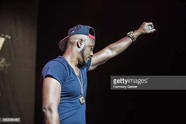 Mystikal performs at The Shrine Auditorium on September 25 2015 in Los Angeles California