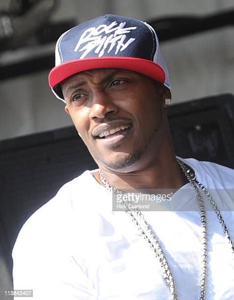 Mystikal performs during the 2011 New Orleans Jazz Heritage Festival Day 6 presented by Shell at The Fair Grounds Race Course on May 7 2011 in New...