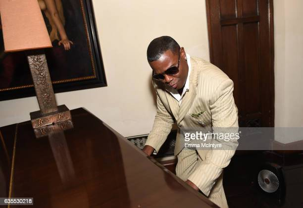 'Mystro' The Black Liberace attends GQ and Chance The Rapper Celebrate the Grammys in Partnership with YouTube at Chateau Marmont on February 12 2017...