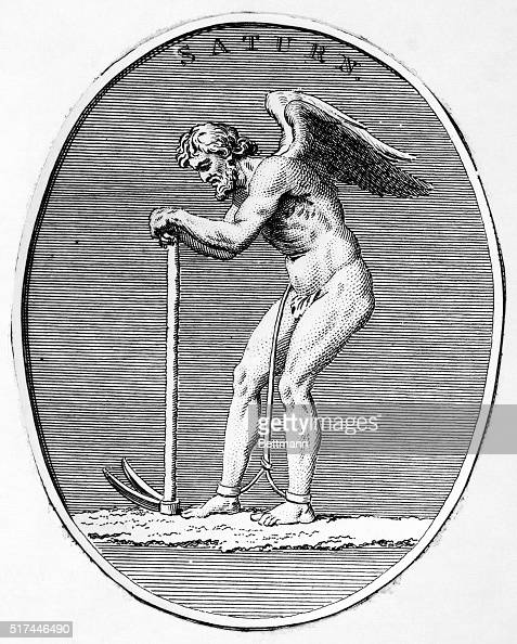 Mythology Saturn The Ancient Roman God Of Agriculture