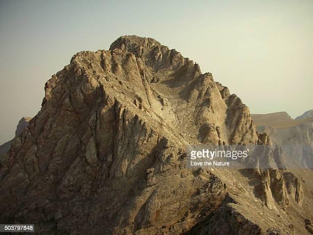 Mytikas Summit of Olympus Mountain !!