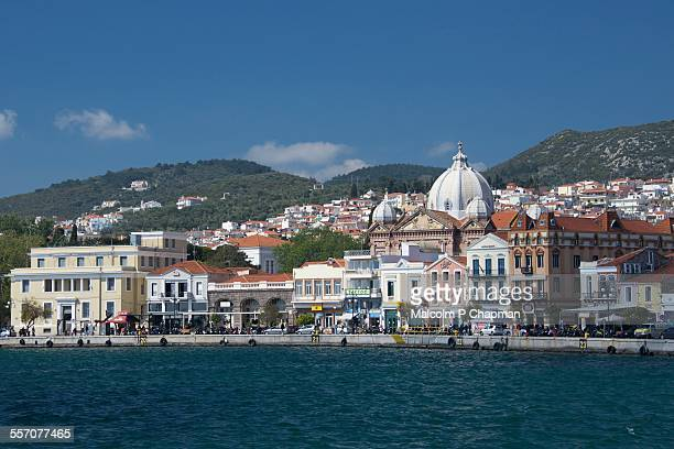 Mytilene waterfront, Lesvos, Greece
