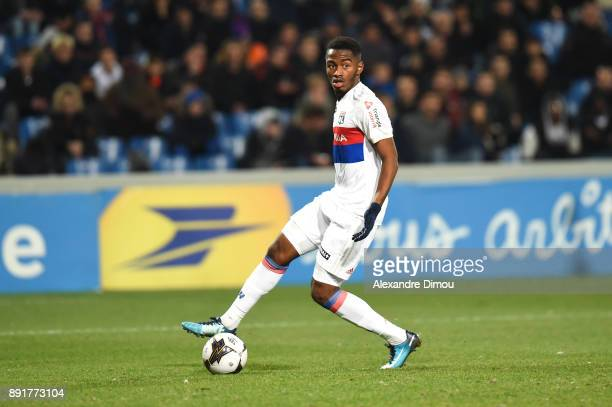 Myziane Maolida of Lyon during the french League Cup match Round of 16 between Montpellier and Lyon on December 13 2017 in Montpellier France
