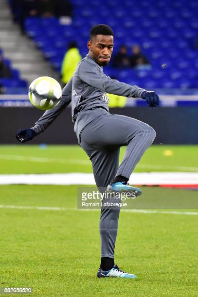 Myziane Maolida of Lyon during the Ligue 1 match between Olympique Lyonnais and Lille OSC at Parc Olympique on November 29 2017 in Lyon