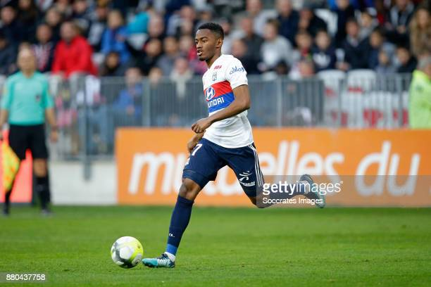 Myziane Maolida of Olympique Lyon during the French League 1 match between Nice v Olympique Lyon at the Allianz Riviera on November 26 2017 in Nice...