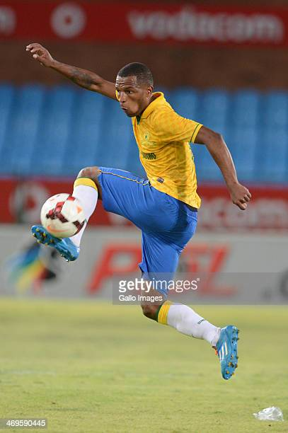 Mzikayise Mashaba during the Absa Premiership match between Mamelodi Sundowns and Ajax Cape Town at Loftus Stadium on February 15 2014 in Pretoria...