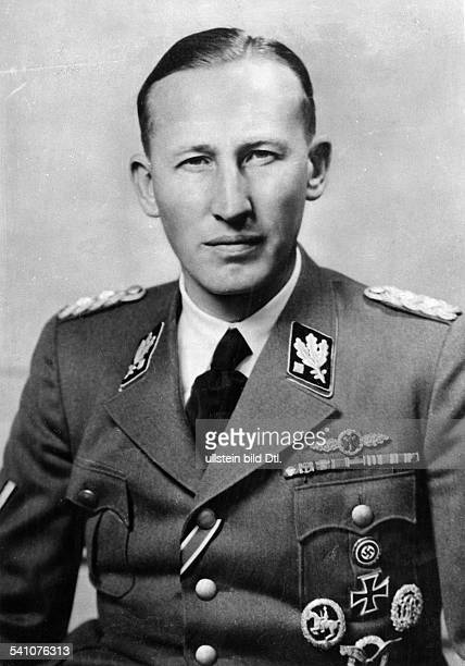 REINHARD HEYDRICH /n German Nazi officer and chief of the Gestapo Photographed in the uniform of an SSObergruppenfuhrer 1941