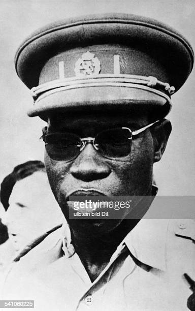 MOBUTU SESE SEKO /n President of Zaire 19651997 Photographed in 1960 around the time of independence of the Congo from Belgium