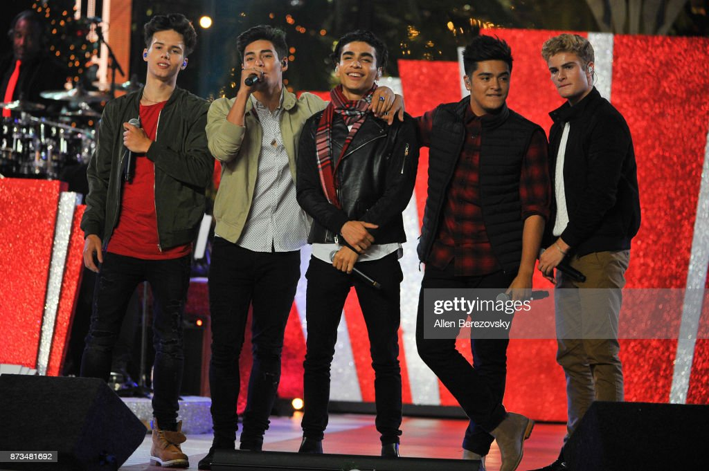n real Life performs onstage at A California Christmas at The Grove Presented by Citi on November 12, 2017 in Los Angeles, California.